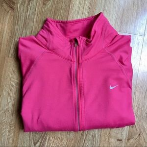 Pink Nike Pullover
